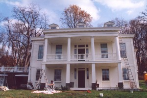 Restoration complete of this Colonial style in Pittsburgh