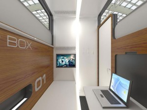 Sleepbox Interior